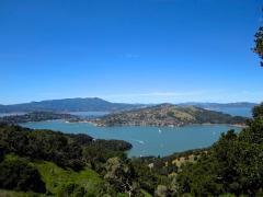 Photo : Vue sur la Baie de San Francisco depuis Angel Island