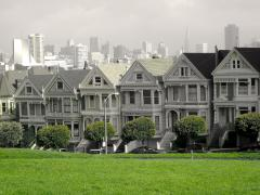 Photo : Painted Ladies Maison Victoriennes San Francisco