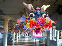 Dragon de AI WeiWei à Alcatraz