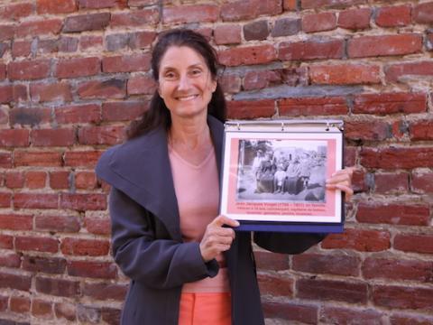 Photo : Sylvie Julie Walters guide à San Francisco