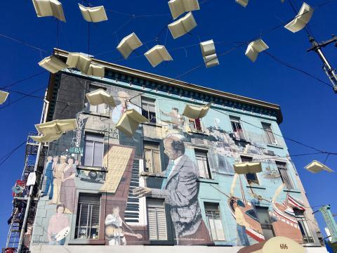 Photos : Fresques murales San Francisco, visite en petit groupe et en français