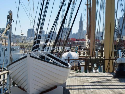 [Photo : port de San Francisco]
