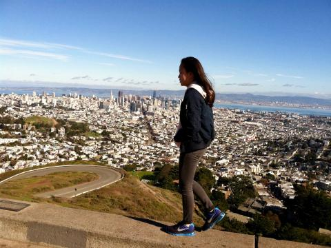 Photo :  vue depuis Twin Peaks San Francisco