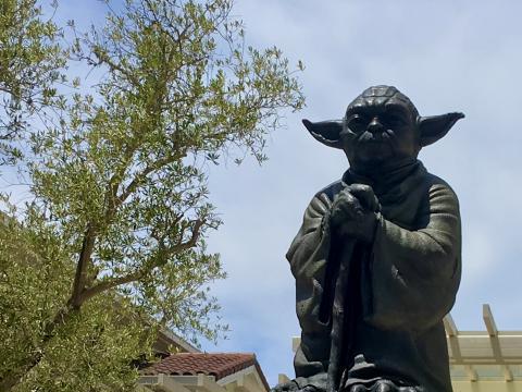Maitre Yoda à San Francisco