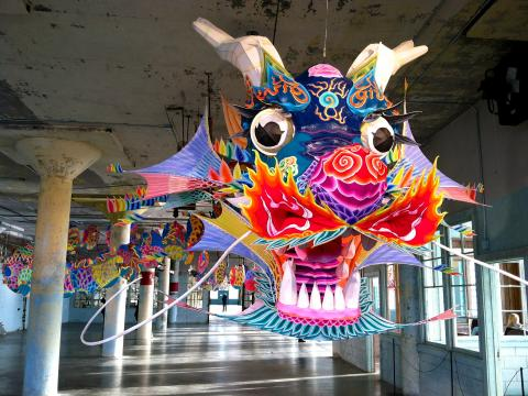 [Photo : Dragon à Chinatown San Francisco]