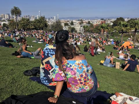 [Photo : Dolores Park à San Francisco]