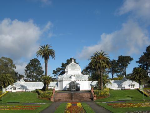 [Photo : Conservatory of Flowers dans le Golden Gate Park]