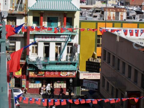 Photo : vue sur Chinatown San Francisco