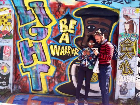 Photo : fresque murale quartier de Mission San Francisco
