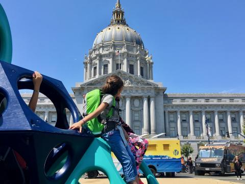 Photo : Civic Center ou Mairie de San Francisco