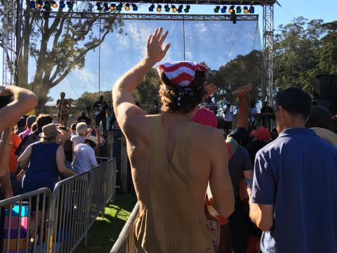 Photo : Festival musique live à San Francisco